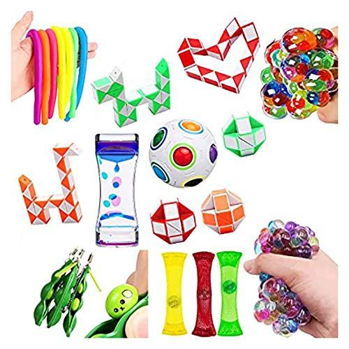 Youpin Juguete sensorial para aliviar el estrés, juguetes para niños y adultos, juguete sensorial, juguete antiestrés para niños (color: 2)
