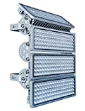 Rugging LED Strahler, Flutlichter, LED Lichter, Flutlicht LED Außen, LED Stadion Licht, LED 400W, LED Flutlicht, 6500K IP67 Für Docks Baustellen Stadien Rasenflächen [Energieklasse A+]