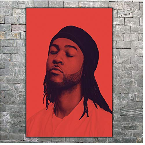 Art Poster Partynextdoor Rap Music Wall Canvas Print Modern painting Home Decor -59x84cm sin marco