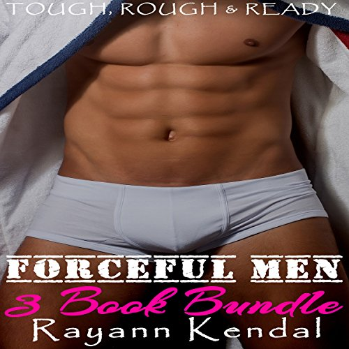 Forceful Men 3 Book Bundle cover art