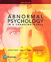 Abnormal Psychology in a Changing World (10th Edition)
