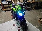 easyelettronica® Kit LED CREE Moto lámparas H7para Kawasak Z750para anti-reflejo + abbagliante todo LED nueva tecnología