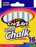Cra-Z-art White Chalk, 16 Count (10800-48)