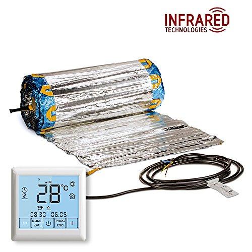 Kit alfombrilla calefacción suelo radiante eléctrico
