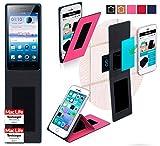 Hülle für Oppo Neo 5s Tasche Cover Case Bumper | Pink |
