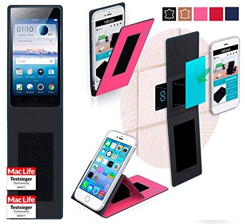 Hülle für Oppo Neo 5s Tasche Cover Hülle Bumper | Pink | Testsieger