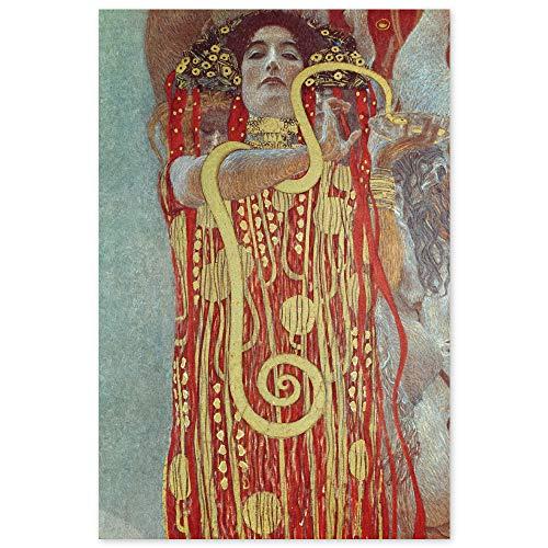 JUNIWORDS Poster, Gustav Klimt, Hygieia, 60 x 90 cm