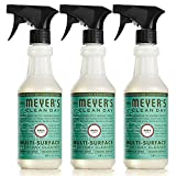Mrs. Meyer's Clean Day Multi-Surface Everyday Cleaner, Basil, 16 fl oz, 3 ct