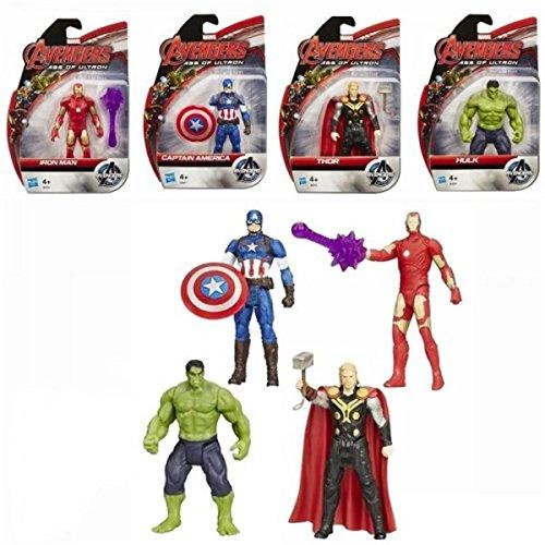 HASBRO Marvel Avengers Action Figures 10 cm 5mod. (Sogg.cas.) (1/2015) B0437