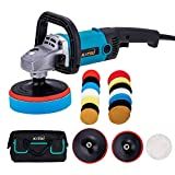 1200W Car Polisher Variable Speed 150 mm 180mm with Accessories Set