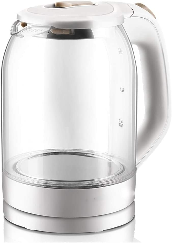 WALNUTA Challenge the lowest price Max 62% OFF of Japan ☆ Electric Kettle Glass Tea BPA-Fr