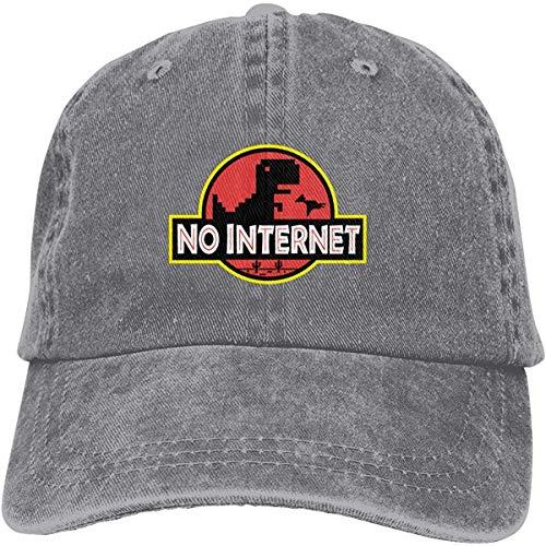 EJWERR No Internet Park Baseball-Cap Twill Adjustable Dad-Hat