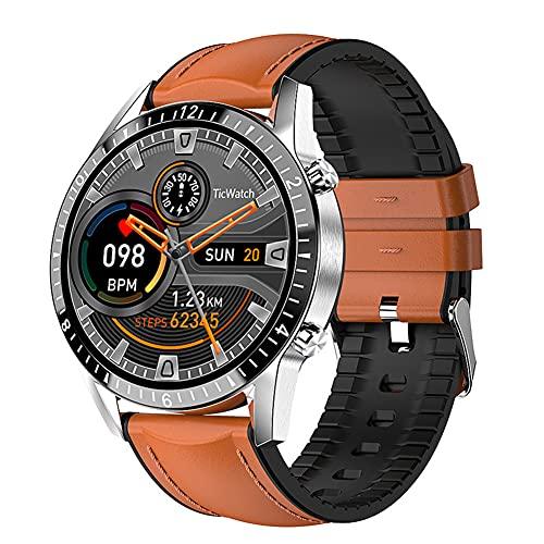 DLBJ Smartwatch, Reloj Inteligente 1.3 Inch HD con Control de Podómetro Pulsómetro Cronómetro Calorías Monitoreo del Sueño, Pulsera Actividad de Fitness IP67