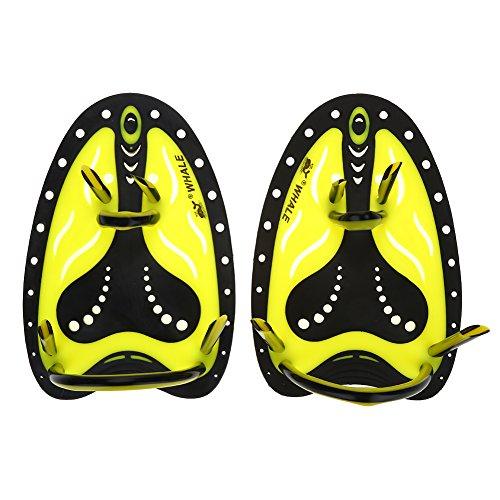 Tbest Handpaddles Schwimmen Paddel für Training, Erwachsene Kinder Schwimmen Hand Paddel 1 Paar Hand Training Schwimmen Tauchen Hand Flossen Paddeln Webbed Training Fin Tauchen Ausrüstung