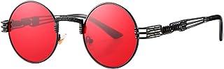 Pro Acme John Lennon Round Steampunk Sunglasses for Women Men Retro Metal Frame