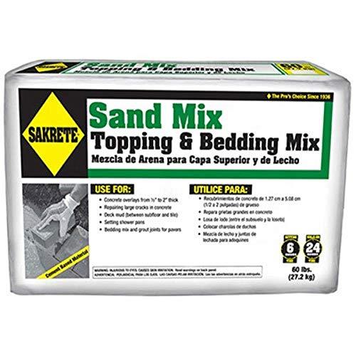 of North America  Sand Mix, 60 lb - Sakrete 65306217