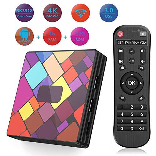 Android TV Box 6.0 Amlogic S905x Android 6.0 TV Box Quad Core CPU 1GB RAM/8GB ROM 64 Bits Quad Core...
