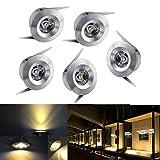 10X 1W LED Spot Lampe Mini Spot Downlight Lampe Encastré Chambre Chaud 220V