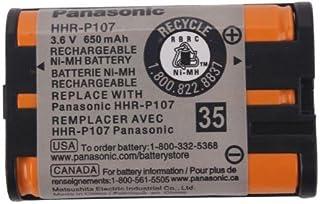 بطارية متوافقة مع اجهزة التحكم عن بعد 0.5 - 1 امبير - HHR-P107 من باناسونيك