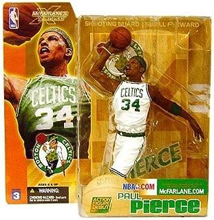 McFarlane Toys NBA Sports Picks Series 3 Action Figure Paul Pierce (Boston Celtics) White Jersey Variant