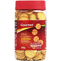Gourmet Mini Crackers Redondas - 350 g