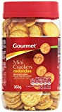 Gourmet - Mini crackers redondas - 350 g...