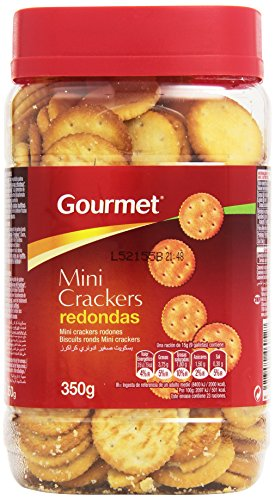 Gourmet - Mini crackers redondas - 350 g