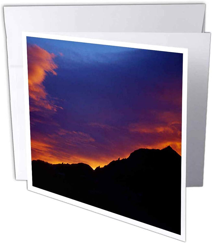 3dRosa gc_26253_2 Grußkarte Farbeado Boulder Sunset Over Flatirons , 15 x 15 cm, 12 Stück B07BJDHKZ9 | Treten Sie ein in die Welt der Spielzeuge und finden Sie eine Quelle des Glücks