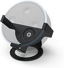 (Black) - Hama Desk Stand for Echo Dot 2nd Generation - Black