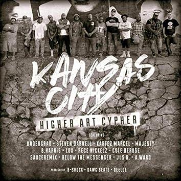 KC Higher Art Cypher (feat. Lox, Jus B, Below the Messenger, They Call Me Sauce, Cole Deruse, Rece Nickelz, B.Harris, Majesty, Kartez Marcel, Steven Darnell, Undergrad, A. Ward & B-Shock)