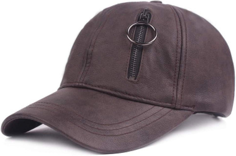 WYKDA hat with Zipper Real Pocket Snapback Baseball Cap Female Male Girl boy Cap