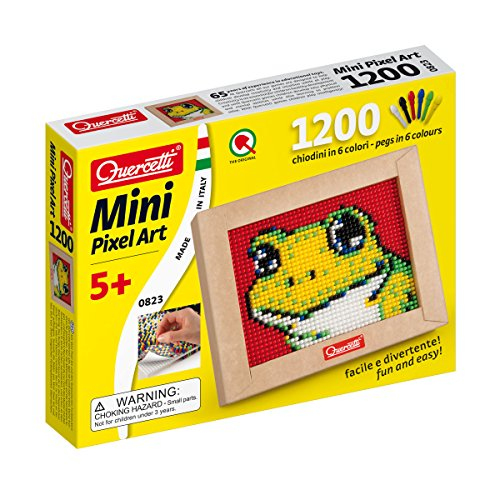 Quercetti Mini Pixel Art Set - Frog