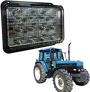 Ford New Holland Tractor LED Headlight (Fits Models: 5640, 6640, 7840, 8160, 8240, 8260, 8340, 8360, 8560)