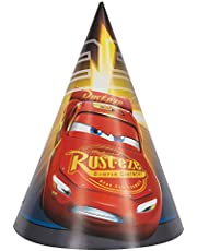 Disney Cars 3 Party Hats - 8 Pcs