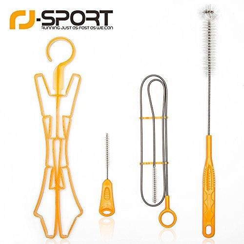 IDRATAZIONE Pack Kit di pulizia bevanda bolle, RJ-Sport 4 in 1 Idratazione pulizia Kit For SISTEMA DI IDRATAZIONE Idratazione Zaino