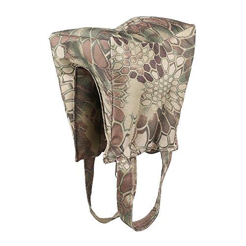 SUNRIS Camouflage Shooting Sandbag Front Rear Rifle Target Rest Bag Hunting Sand Gun Support Bean Bag -Unfilled