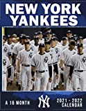 New York Yankees Calendar 2021-2022: 2022 Monthly Planner Agenda PLUS 3 Months For MLB Fans