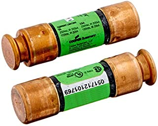 Bussmann BP/FRN-R-30 30 Amp Fusetron Dual Element Time-Delay Current Limiting Class RK5 Fuse, 250V Carded UL Listed, 2-Pack by Bussmann