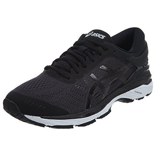 ASICS Men's Gel-Kayano 24 Running Shoe, Black/Phantom/White, 8 Medium US