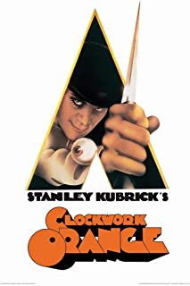A Clockwork Orange-Knife Poster Rolled 24 x 36 PSA009989