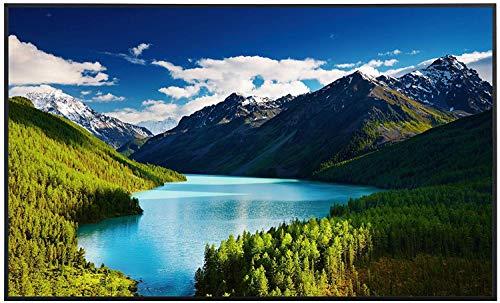 Ecowelle Infrarotheizung mit Bild   600 Watt   60x100 cm   Infrarot Heizung    Made in Germany  d 28 Colorado Berge und Wasser