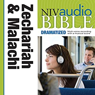 Dramatized Audio Bible - New International Version, NIV: (28) Zechariah and Malachi audiobook cover art
