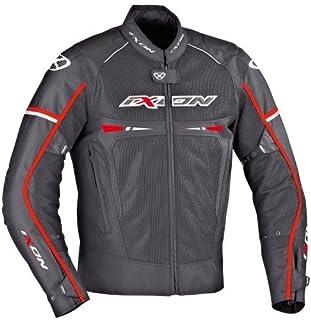 Giubbotto Moto Pitrace Noir//Blanc//Rouge Ixon