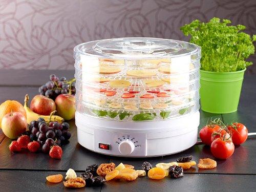 Rosestein Essicatore Per Alimenti Con Regolatore A 7 Livelli Di Temperatura Frutta,Verdura,Funghi