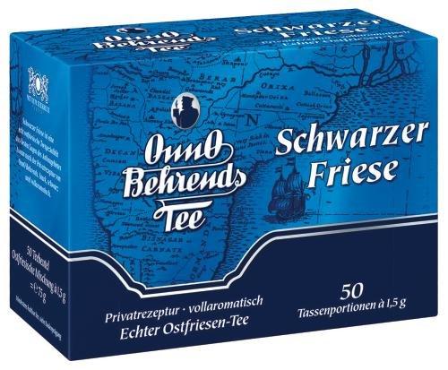 Onno Behrends Tee Schwarzer Friese, 6er Pack (6 x 50 x 1,5 g Packung)