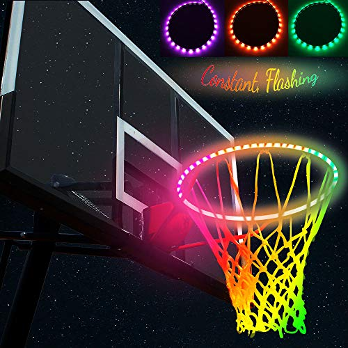 Noblik Im Dunkeln leuchten Basketball Net Light Powered Sun Standardgroesse Schiesstraining