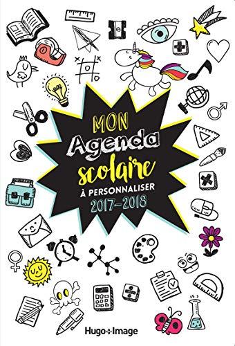 Mon agenda scolaire à personnaliser 2017-2018