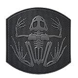 LEGEEON ACU US Navy Seals Bone Frog Skull DEVGRU Frogman Morale PVC Touch Fastener Patch