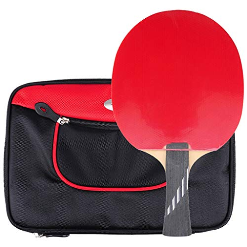 Fantastic Prices! LIULU Ping Pong Paddle Carbon Bottom Plate 10 Stars with Racket Table Tennis Racke...