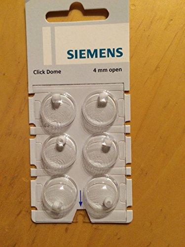 Siemens Click Dome 4 mm open 6er Blister